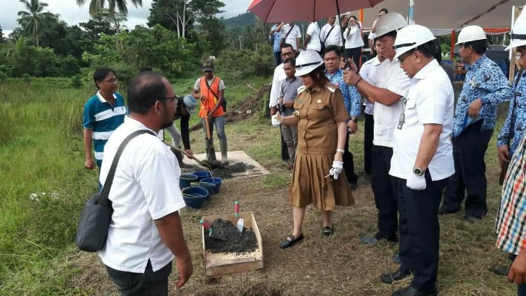 Permalink ke Bupati VAP Letakkan Batu Pertama Pembangunan Embung Wanua Ure