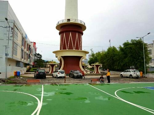 Permalink ke DLH Kota Manado Bangun Taman Dilengkapi Lapangan Futsal di Area Tugu Lilin