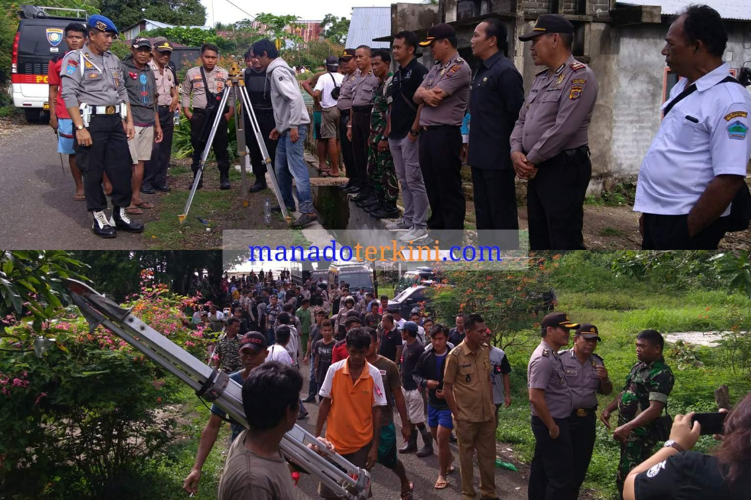 Permalink ke Polres Minut Kawal Pengukuran Lahan Milik PT Bhineka Manca Wisata