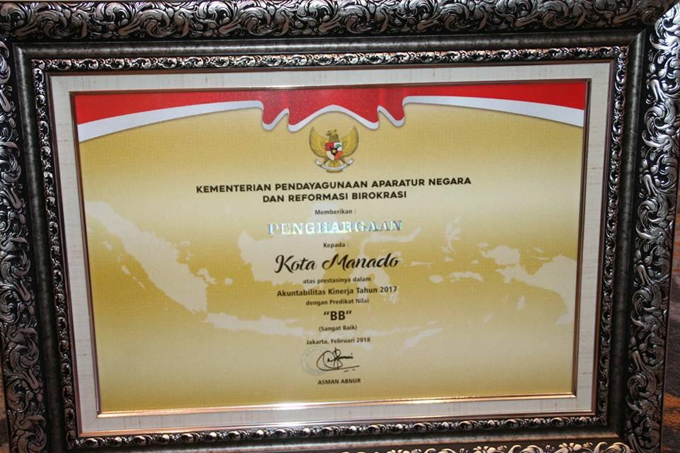 Permalink ke Manado Raih Nilai BB, MenPAN/RB Puji Gebrakan Walikota GSVL