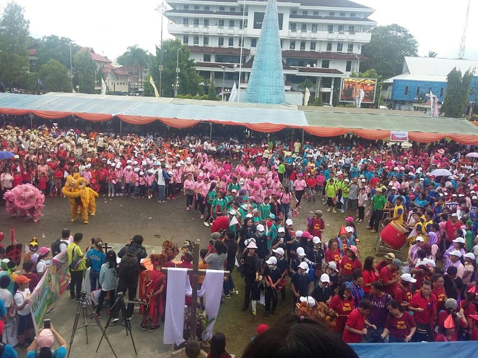 Paskah Raya dan Hari Anak GMIM di Manado Berlangsung Meriah