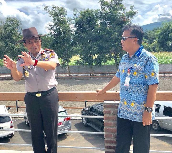 Permalink ke Kapolda Sulut Beri Ide Untuk THL Dinas PUPR Bangun Kota Manado