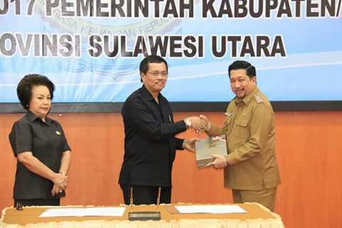 Pemkot Manado Kembali Raih WTP