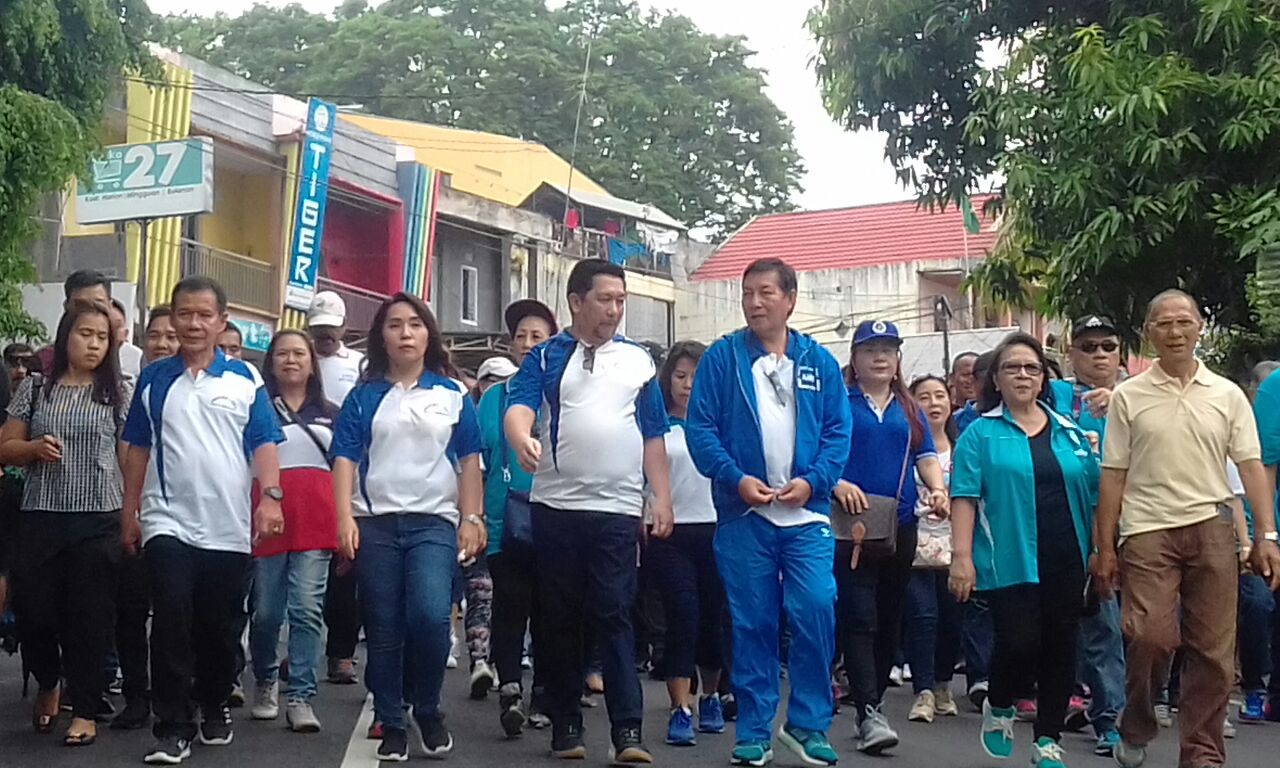 Permalink ke Jalan Sehat Bersama Buka Rangkaian HUT Ke-395 Kota Manado