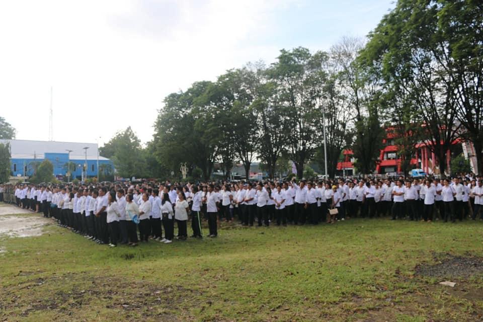 Walikota Manado Tegaskan Jangan Potong Honor THL