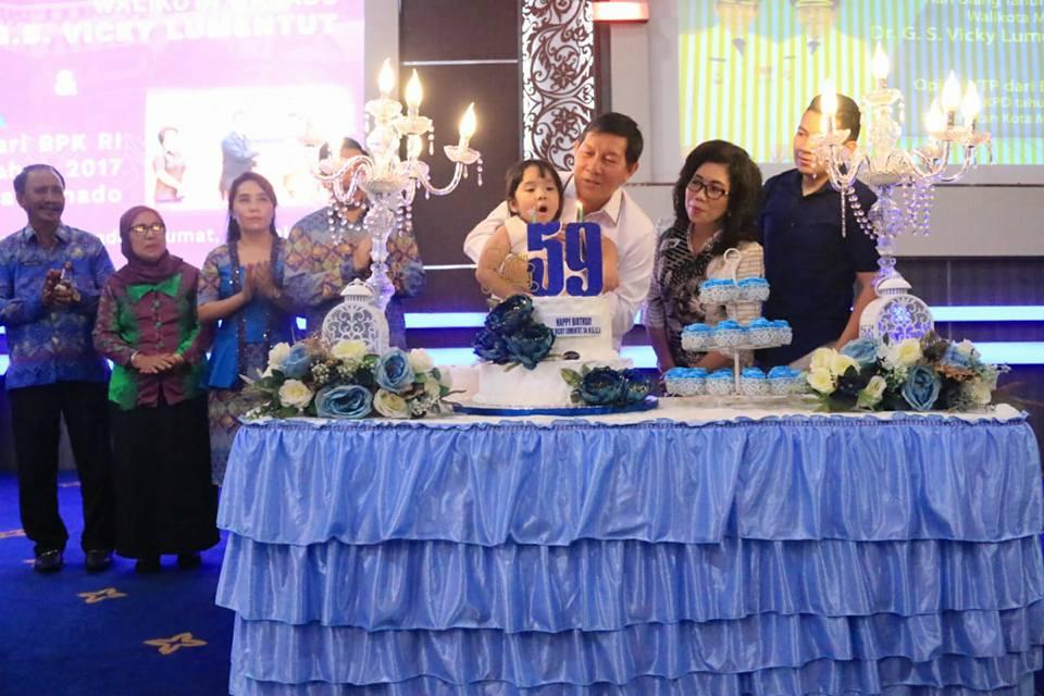 Permalink ke Walikota Manado Rayakan HUT Dengan Sederhana