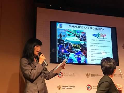 Permalink ke Promosi MF 2018, LENDA PELEALU Gaet Forum Bisnis Rusia Ke Manado