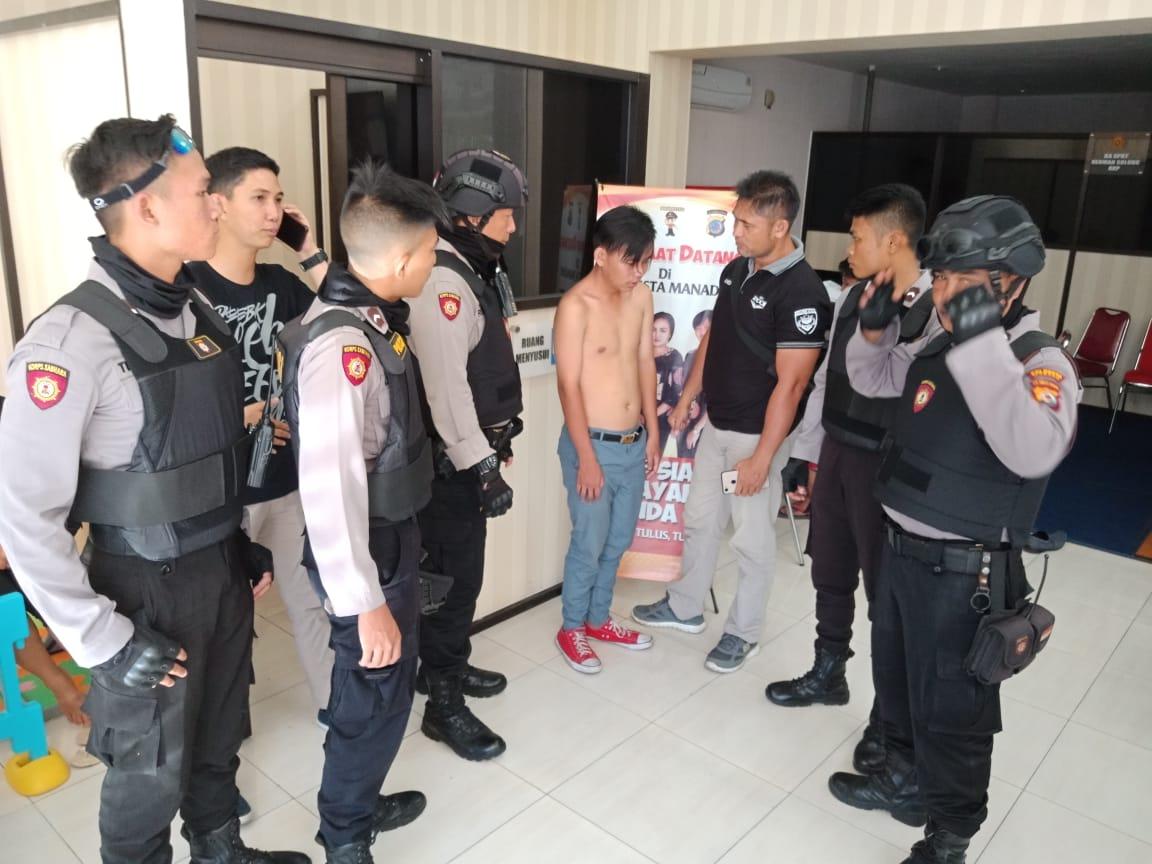 Permalink ke Kedapatan Mabuk, Seorang Remaja Diamankan Patroli Rayon Polresta Manado