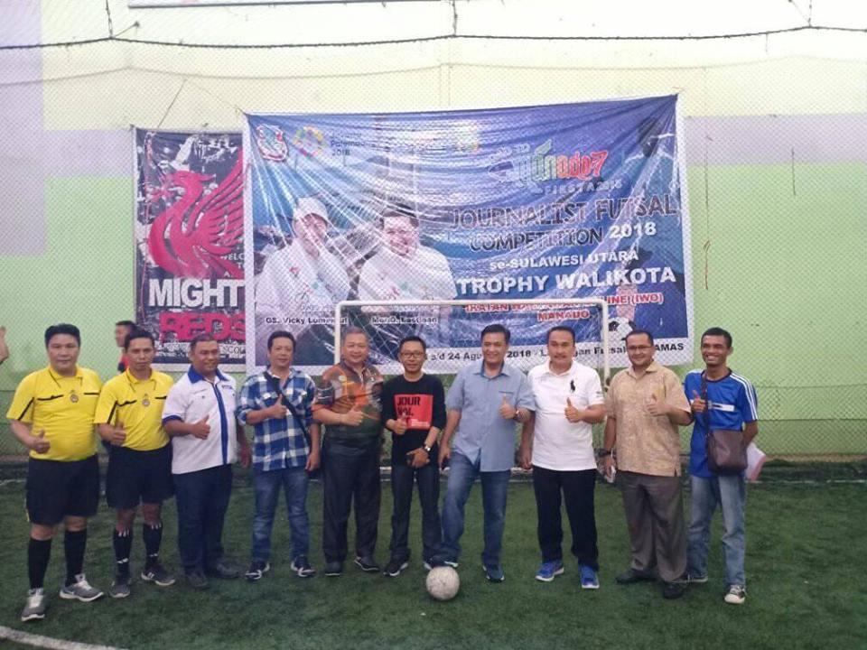 Permalink ke Turnamen Futsal Jurnalis, Forward Sulut Bertemu JKBM Kotamobagu di Final