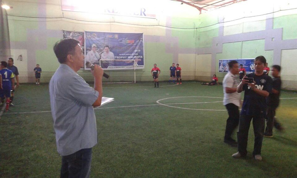 Permalink ke Road to Manado Fiesta, Sekda Assa Buka Journalist Futsal Competition