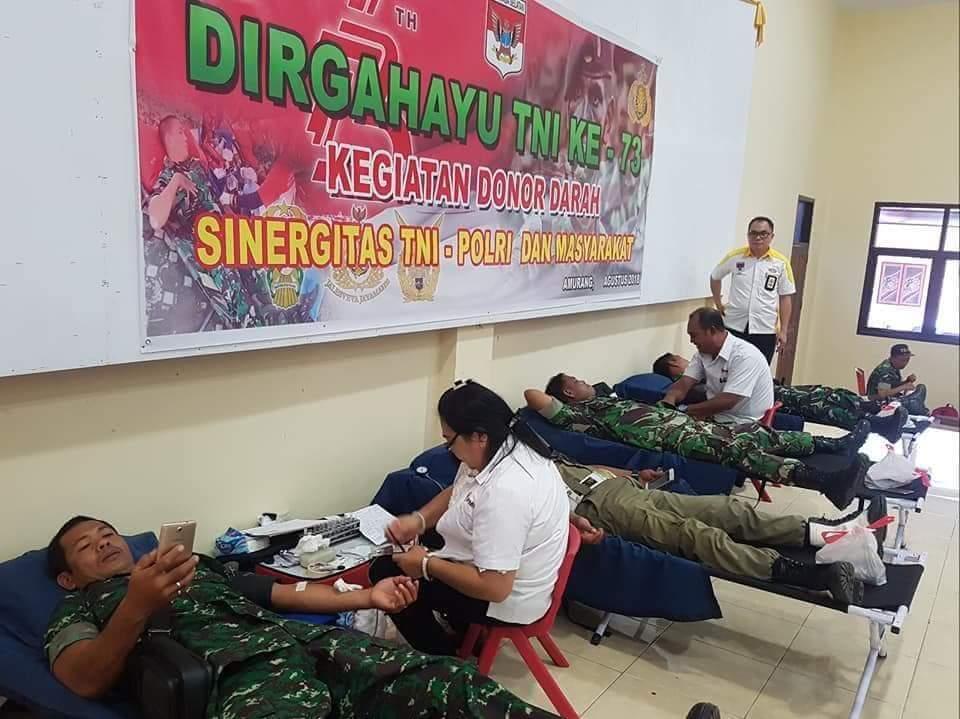 Permalink ke TNI Gandeng Polri dan PMI Minsel Gelar Donor Darah