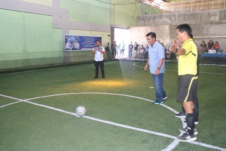 Futsal Antar Jurnalis, Walikota GSVL Ingatkan Sportifitas