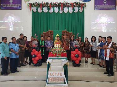 Lomban-Mantiri Rayakan HUT Ke-67 Sinode AM Gereja-gereja di Sulawesi Utara dan Tenggah