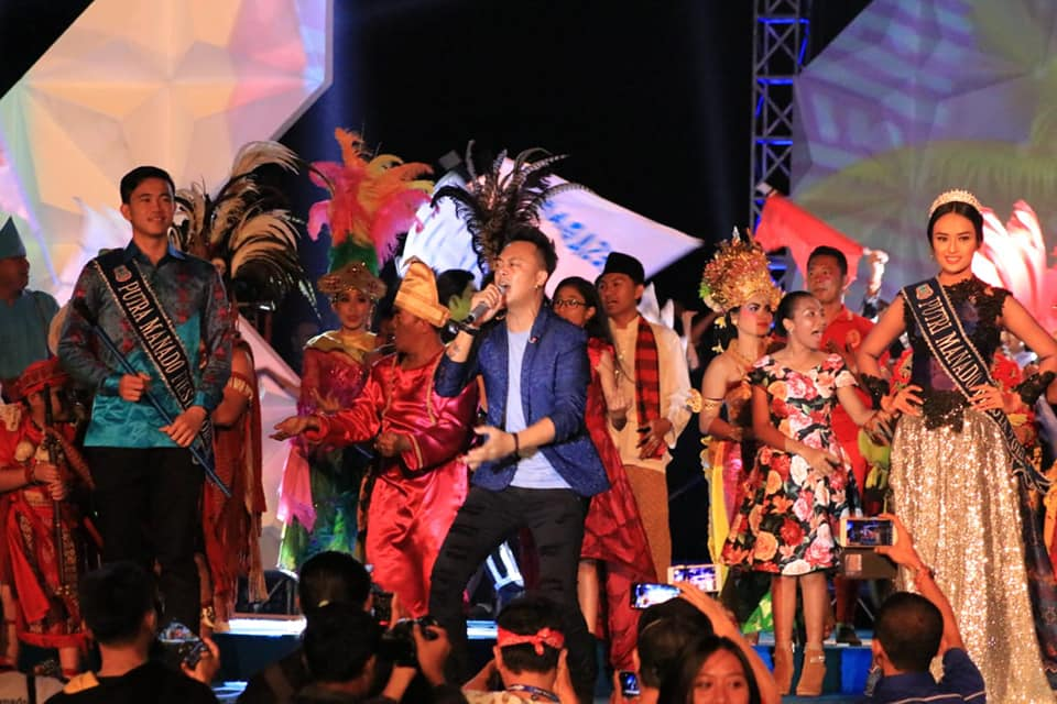 Spektakuler, Closing Ceremony Manado Fiesta 2018 Layaknya Penutupan Asian Games
