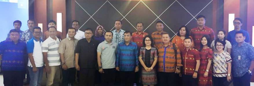 Penjabat Sekda dan Kaban Liny Studi Banding ke Pemkab Banyuwangi