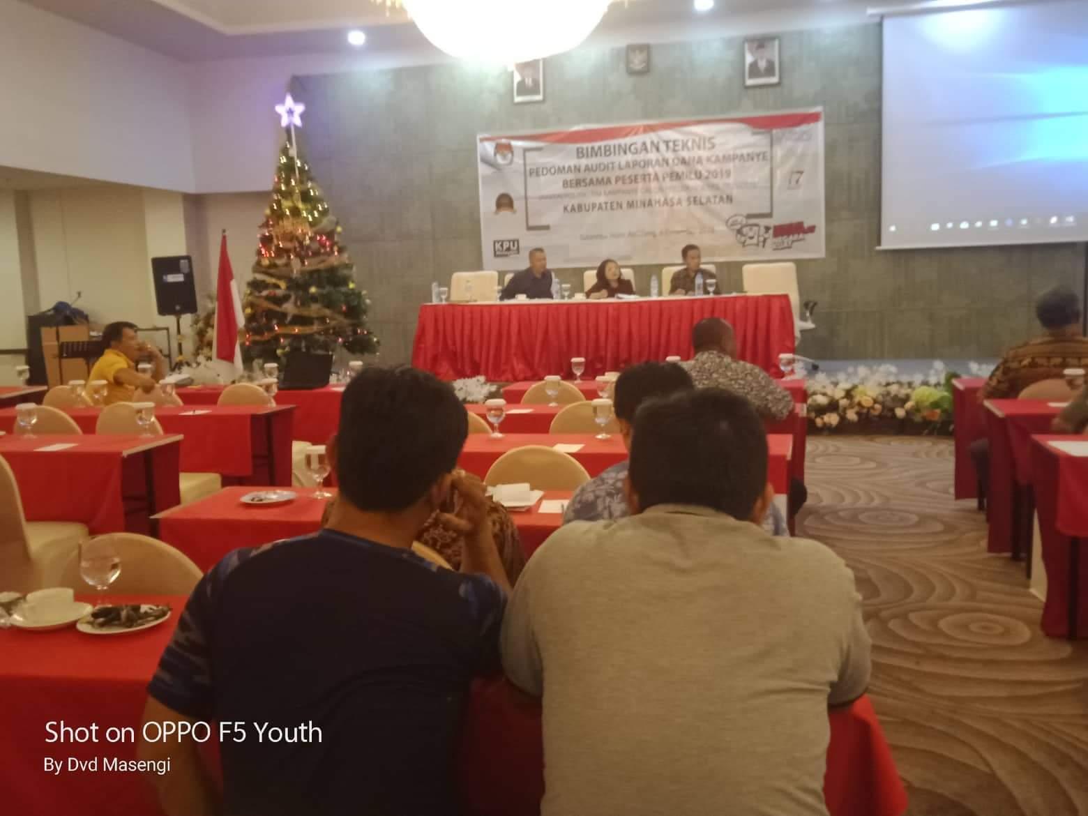 Permalink ke KPUD Minsel Gelar Bimtek Pedoman Laporan Audit Dana Kampanye Pemilu 2019
