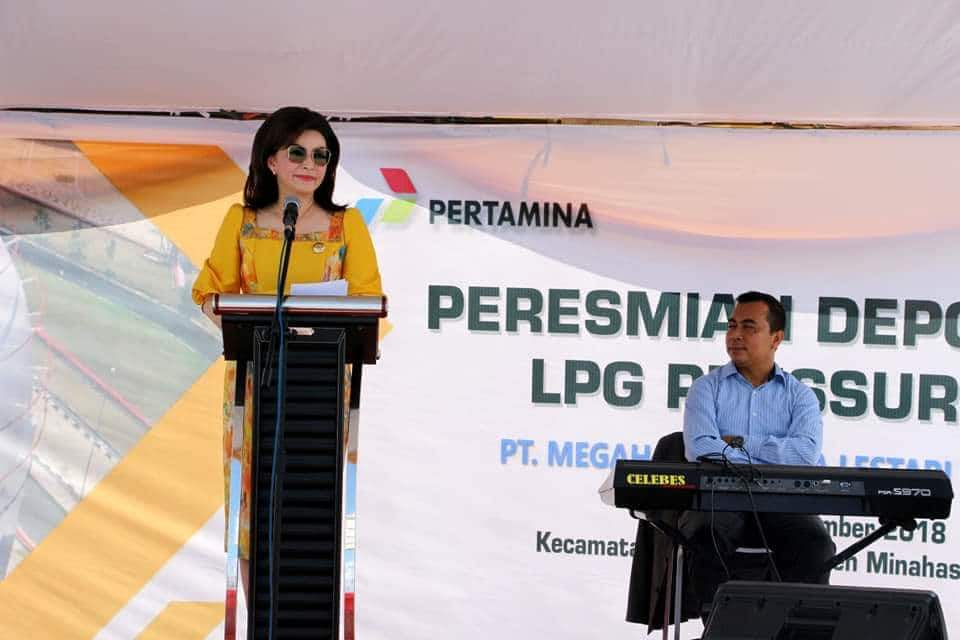 Permalink ke Bupati Tetty Resmikan Depot Mini LPG Pressurized di Desa Sapa