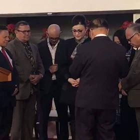 Permalink ke Hadiri Ibadah Natal Bersama RKMS di California, Bupati Minsel Didoakan