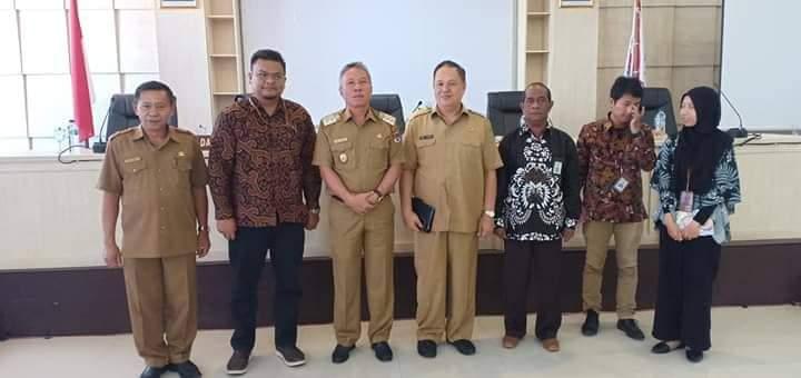 Permalink ke Wakili Bupati, Wabup Minsel Hadiri Exit Meeting Bersama BPK
