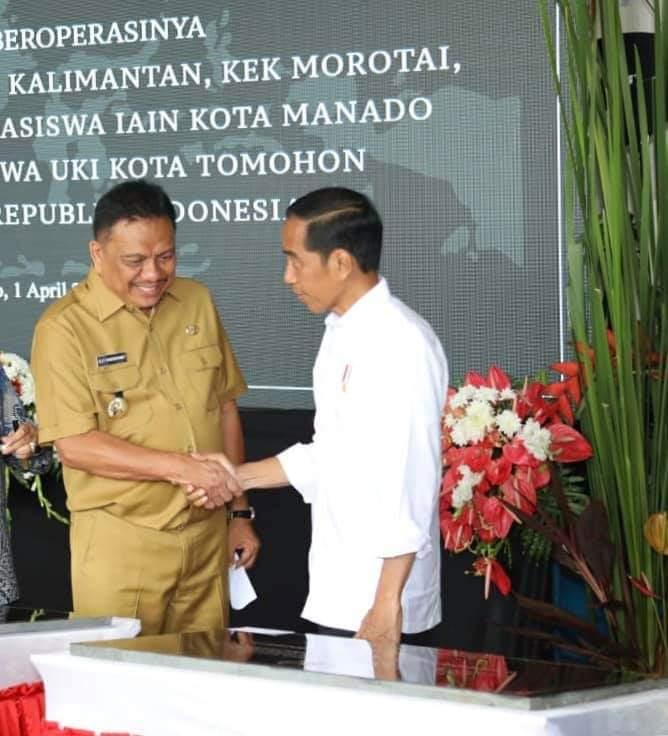 Permalink ke Olly Dondokambey Dampingi Jokowi Resmikan KEK Bitung (I)