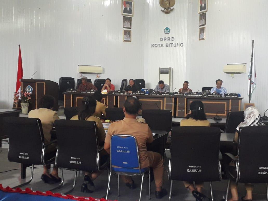 Permalink ke Lokasi RTRW Kota Bitung, Tatanude Cs Ingatkan Perangkat Daerah