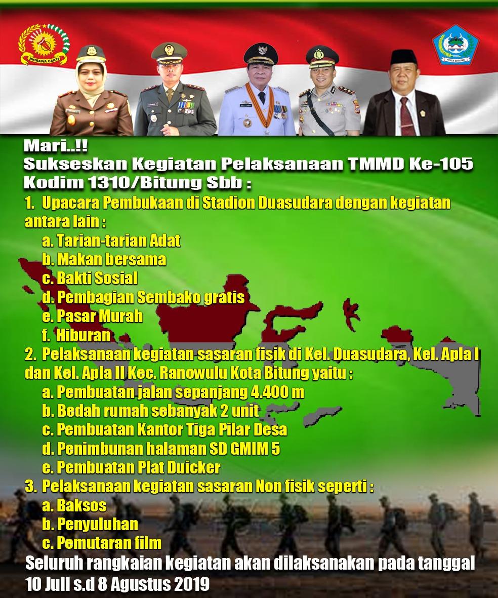 Permalink ke Lomban Ajak Masyarakat Dukung Pelaksanaan TMMD ke-105