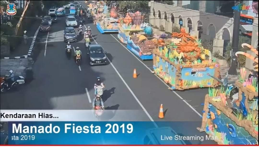 Permalink ke Nonton Manado Fiesta 2019 Lewat Live Streaming Cerdas Command Center