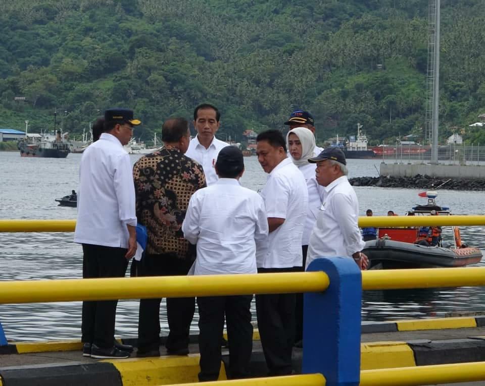 Permalink ke Bangun Infrastruktur, Jembatan Terpanjang Bakal Dibangun Jokowi di Pulau Lembeh