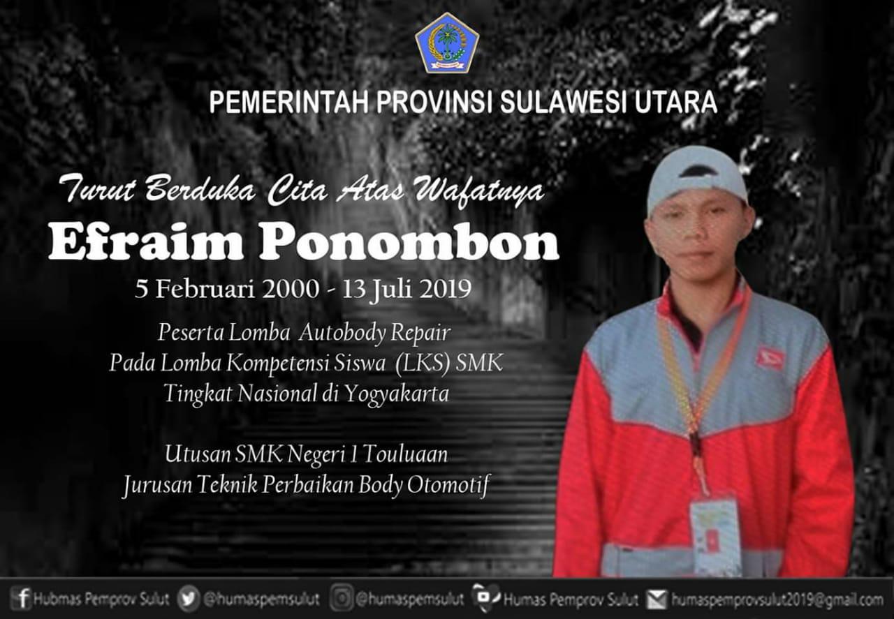 Permalink ke Salah Satu Siswa Terbaik Sulut Tewas saat ikut Lomba di Yogyakarta