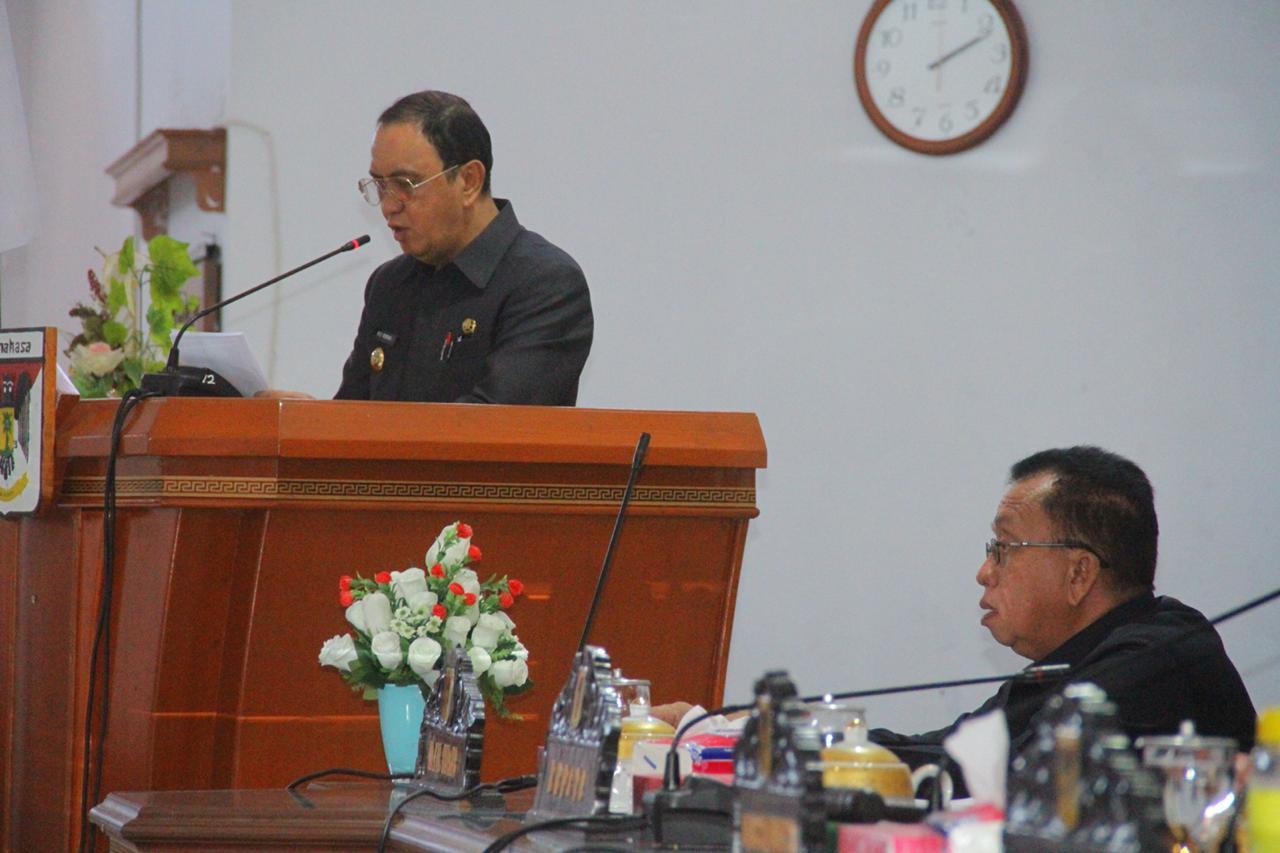 Permalink ke Dalam Rapat Paripurna DPRD ROR Ungkapkan Terima Kasih Buat Seluruh Masyarakat
