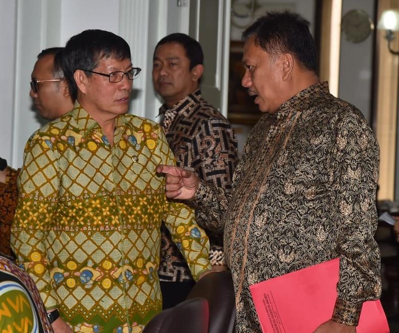 OD-GSVL ikut rapat terbatas, Jokowi : Sampah masalah Nasional dan Dunia