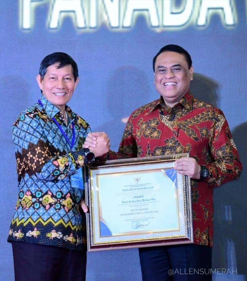 Permalink ke Aplikasi PANADA Pemkot Manado Raih Penghargaan TOP 99