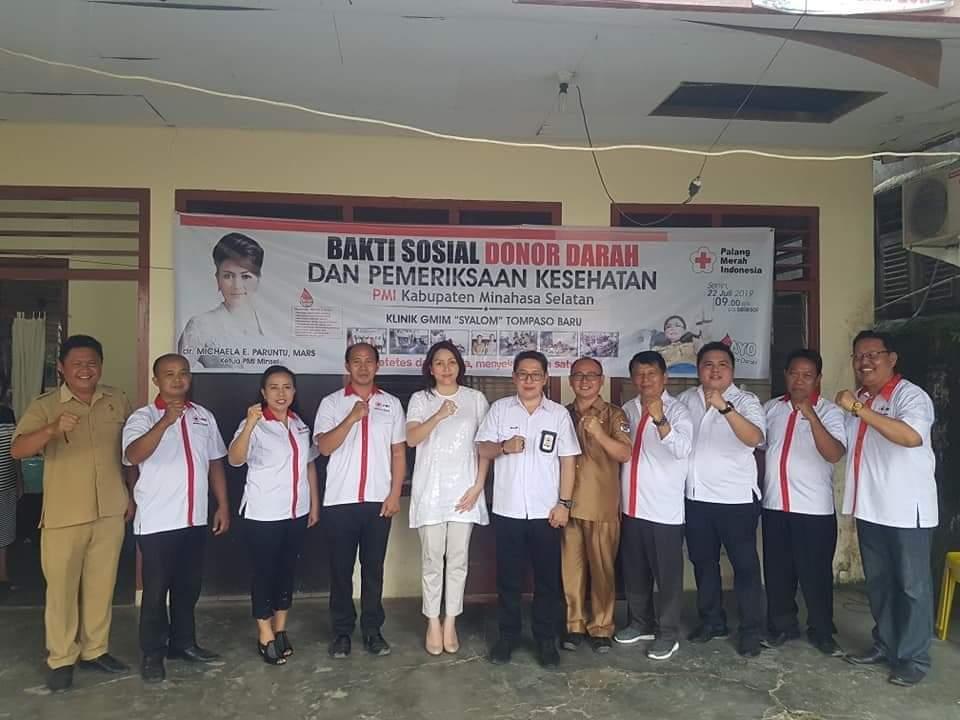 Permalink ke PMI Minsel Gelar Baksos Donor Darah dan Cek Kesehatan Gratis di Kecamatan Tompasobaru