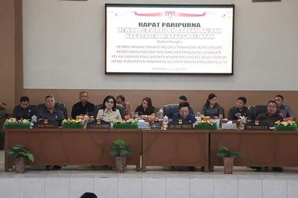 Permalink ke DPRD Minsel Gelar Paripurna Pertanggung Jawaban APBD 2018