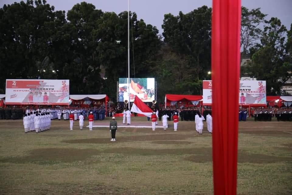 Permalink ke Dipimpin Olly Dondokambey, Upacara Penurunan Bendera Berlangsung Sukses