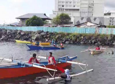 Permalink ke Semarakkan Manado Fiesta 2019, Balap Katinting  dan Tarik Tambang di Atas Perahu