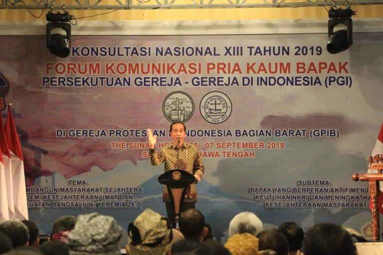 Permalink ke Olly Dampingi Jokowi Buka Konsultasi Nasional XIII FK PKB PGI