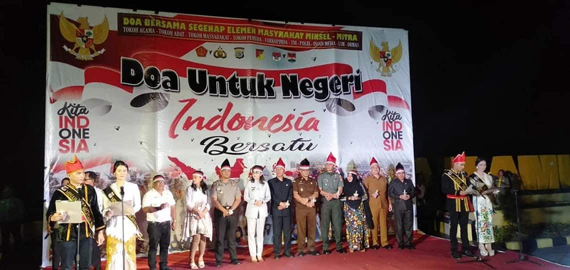 Permalink ke Pemkab dan Polres Minsel Gelar Doa Bersama Untuk Negeri Indonesia