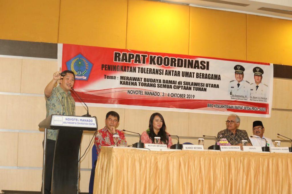 Permalink ke Ini Kunci OD-SK Menjaga Sulut Daerah Paling Toleran
