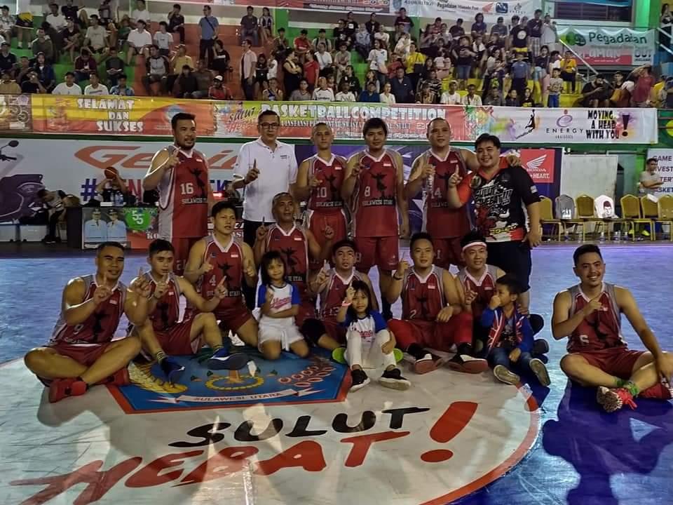 Permalink ke Pemprov Sulut dan Harlex Juara Basketball Competition Sulut 2019