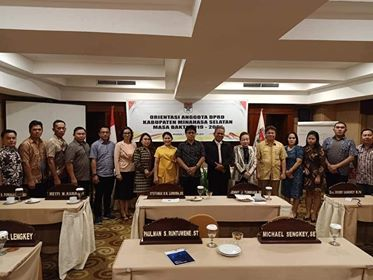 Permalink ke 30 Anggota DPRD Minsel Ikut Orientasi Awal Masa Jabatan