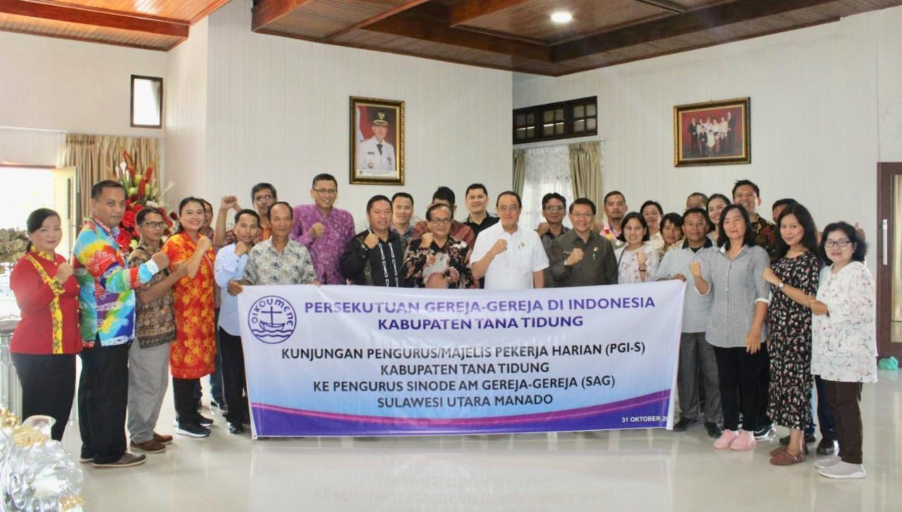 Permalink ke ROR Terima Kunjungan PGI Kalimantan Utara
