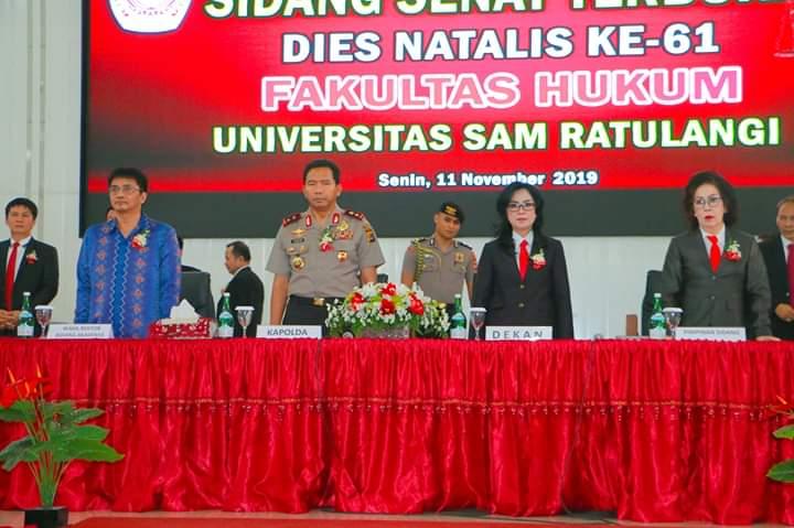 Permalink ke Dies Natalis ke-61 Fakultas Hukum, Kapolda Sulut Bawa Orasi