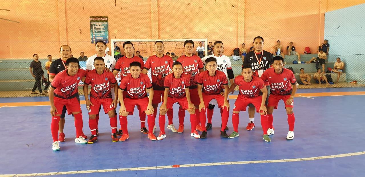 Permalink ke Pornas Korpri, Tim Futsal Sulut Pesta Gol