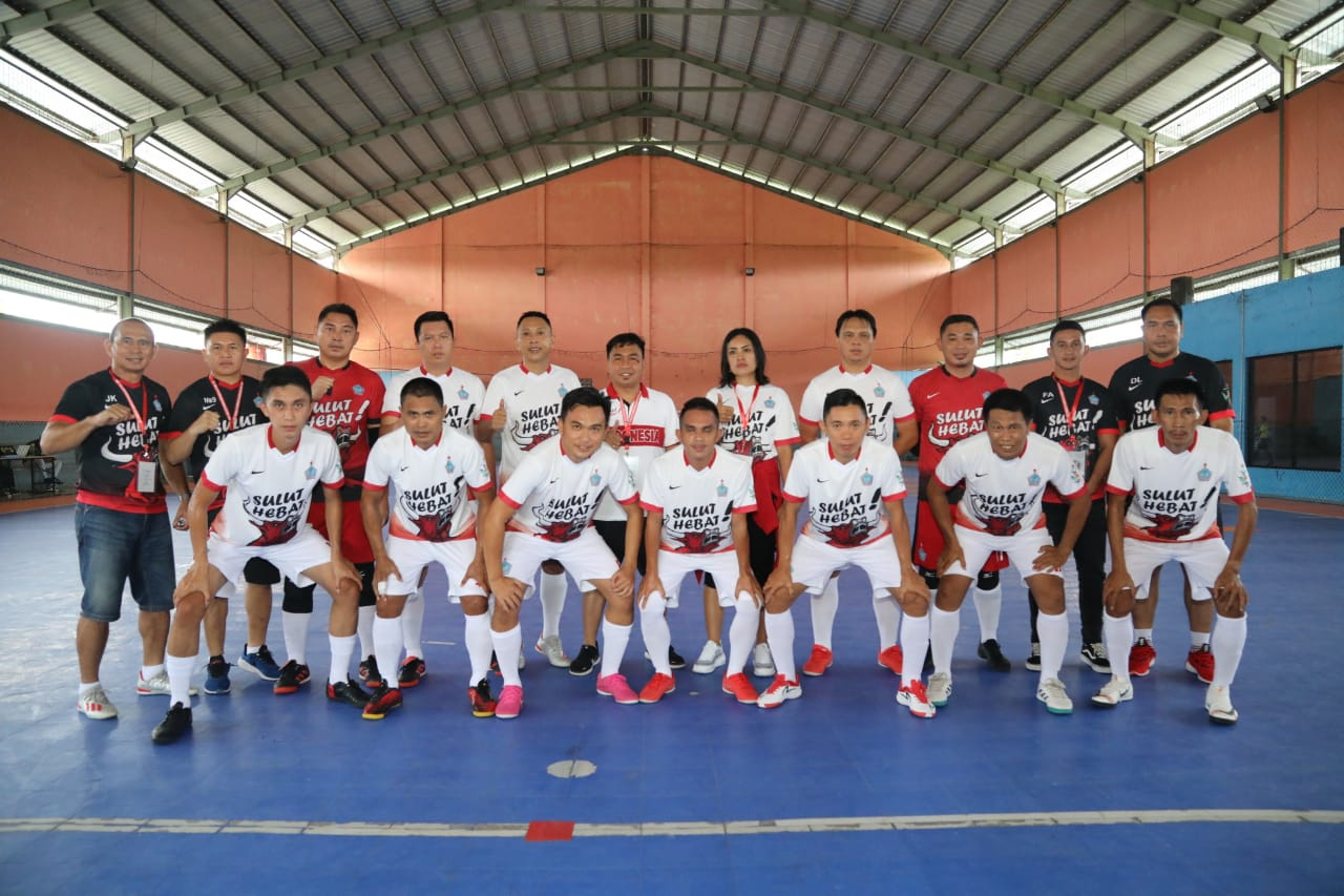 Menang 1-3 Atas Jabar, Tim Korpri Futsal Sulut Lolos Putaran Kedua