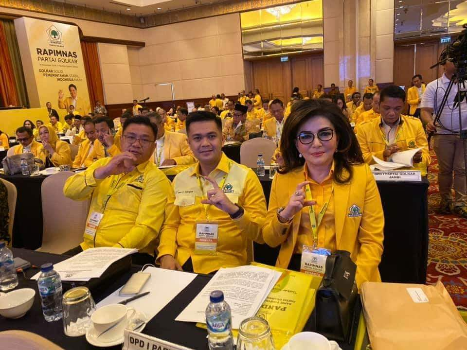 Permalink ke CEP, JAK, dan THL Hadiri Rapimnas Partai Golkar di Jakarta