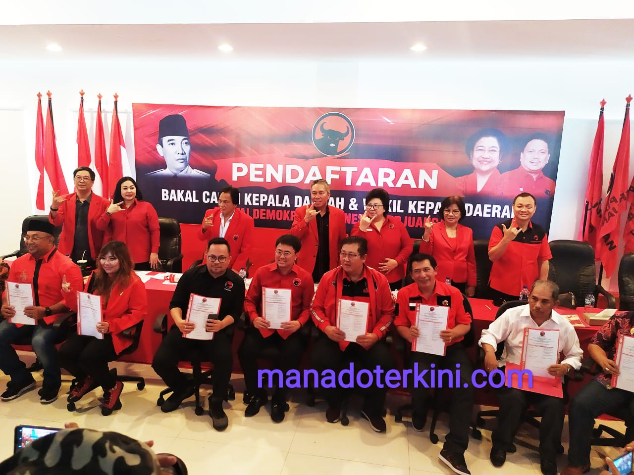 Permalink ke SSK Kader PDIP Perempuan Optimis Ikut Pencalonan Pilkada Manado