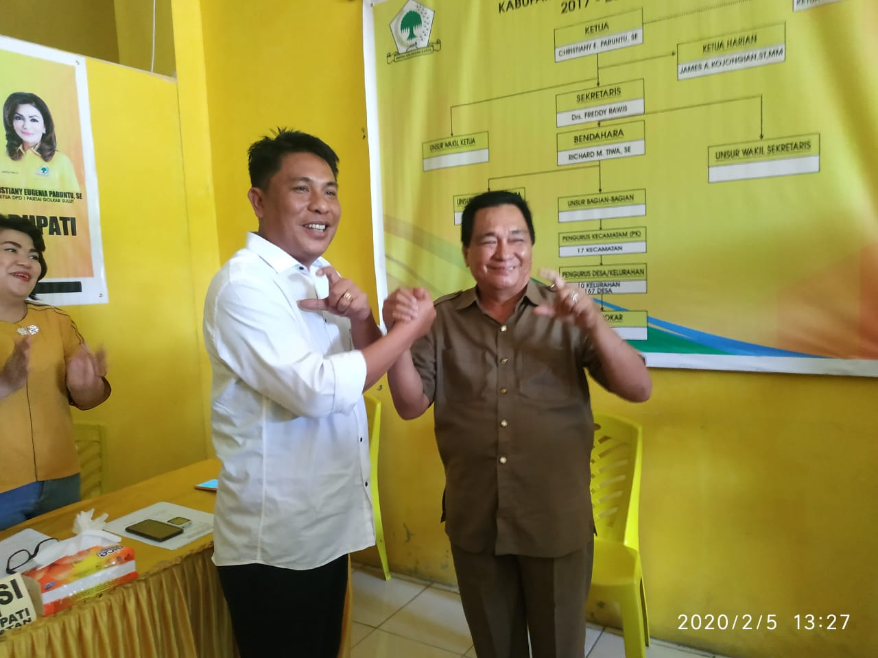 Permalink ke PG Minsel Putuskan VT – FP Kandidat Cawabup Untuk Dampingi MEP