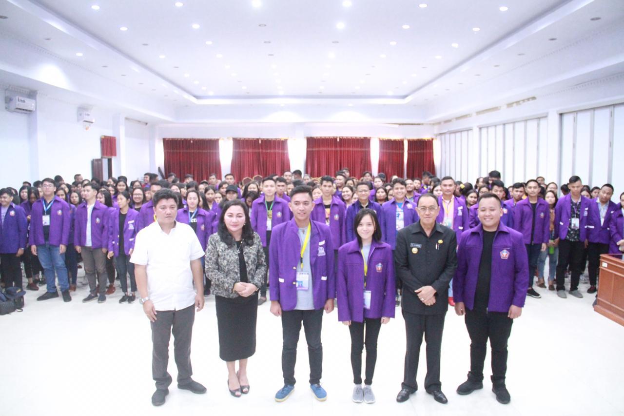 Siap Berkarya, IAKN ManadoTerjunkan Mahasiswa KKN di Minahasa