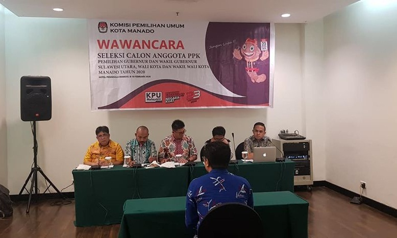 Permalink ke 110 calon PPK ikuti test wawancara, KPU Manado tunggu tanggapan masyarakat